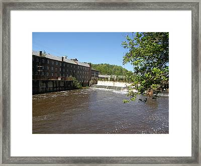 Pratt Cotton Factory Framed Print