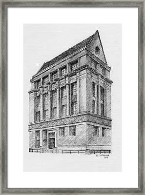 Pratt/phoenix School / Nyc Framed Print