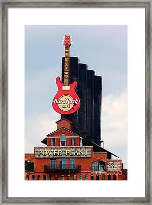 Pratt Street Power Plant Baltimore Framed Print by James Brunker