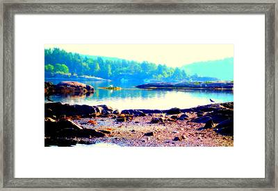 Pray For The Morning, They Say, Because You Never Know  Framed Print