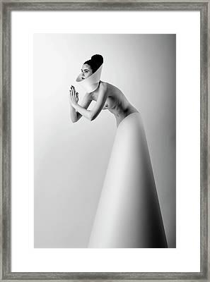 Pray Framed Print by Korpan Pavlo