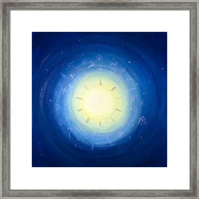 Moon Song Framed Print by Janelle Schneider