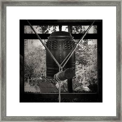 Framed Print featuring the photograph Prayer Bell by Darryl Dalton