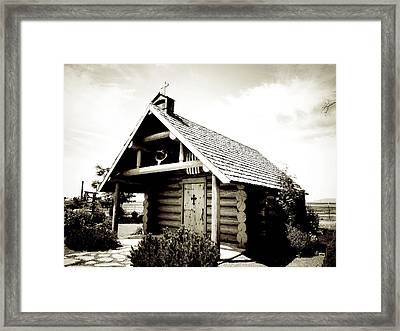 Prayer Chapel Framed Print by Terry Eve Tanner