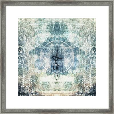Prayer Flag 13 Framed Print by Carol Leigh