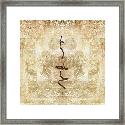Prayer Flag 15 Framed Print