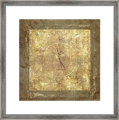 Prayer Flag 206 Framed Print