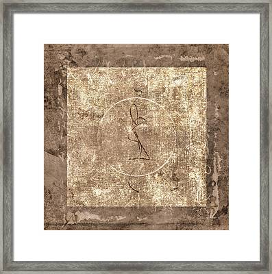 Prayer Flag 211 Framed Print