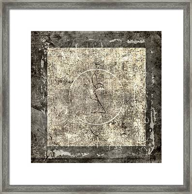 Prayer Flag 212 Framed Print