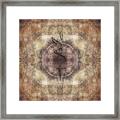 Prayer Flag 34 Framed Print