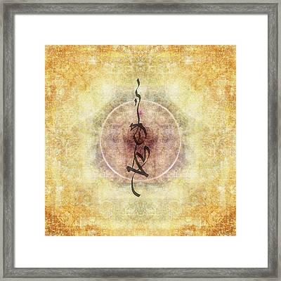 Prayer Flag 36 Framed Print by Carol Leigh