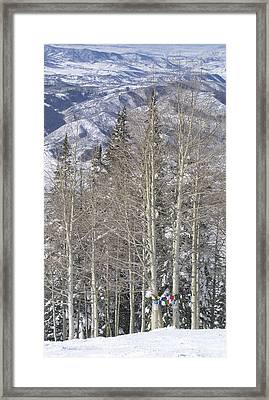 Prayer Flag Meadows Framed Print