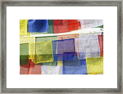 Prayer Flags Framed Print by Dutourdumonde Photography