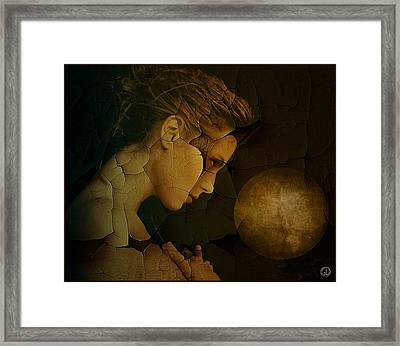 Prayer For Wholeness Framed Print by Gun Legler