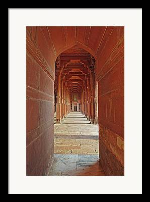 Narrow Perspective Framed Prints
