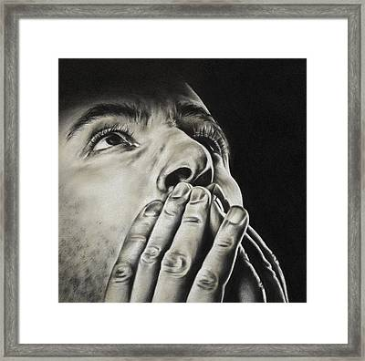 Prayer Framed Print by Natasha Denger