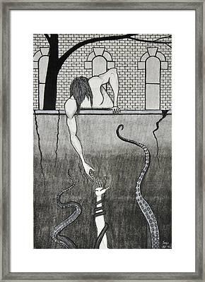 Prayer Framed Print by Sean Mitchell