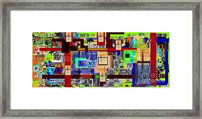 Prayer To Be Saved From The Lust Of Money 4c2 Framed Print by David Baruch Wolk