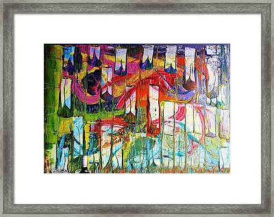 Prayers Ascending Up To Heaven  Framed Print