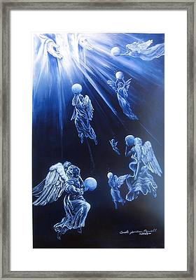 Prayers Ascent Framed Print by Carole Powell
