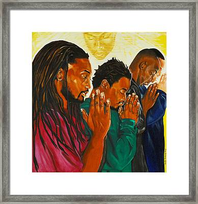 Prayers That Availeth Much Framed Print