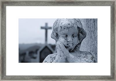 Praying Angel Framed Print