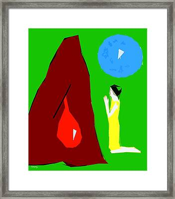 Praying For A Miracle Framed Print by Patrick J Murphy