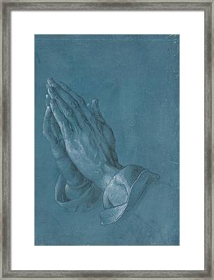 Praying Hands Framed Print by Albrecht Durer