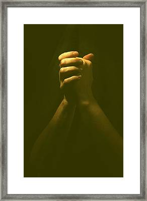 Praying Hands Framed Print by Bob Pardue