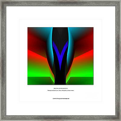 Praying Hands Framed Print by JCYoung MacroXscape