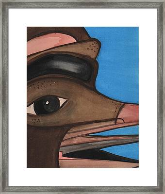 Pre-colombian Artifacts 2 Framed Print by Kiara Reynolds