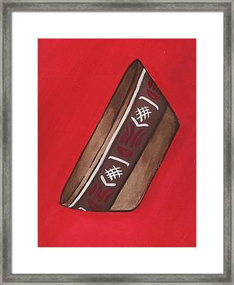 Pre-colombian Artifacts 3 Framed Print by Kiara Reynolds