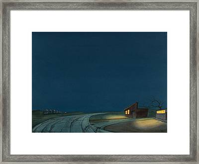 Pre-dawn On The Hi-line I Framed Print