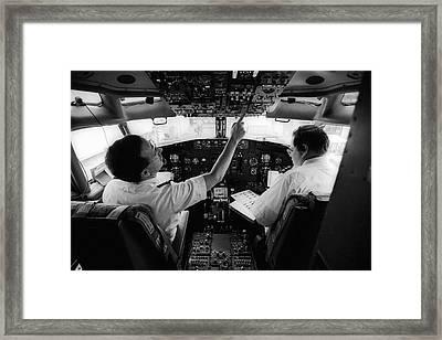 Pre-flight Check Framed Print by Jim West
