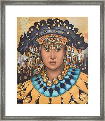 Pre-inca 3 Framed Print