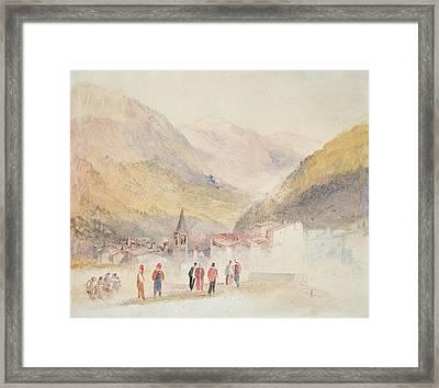 Pre St Didier, 1836 Framed Print