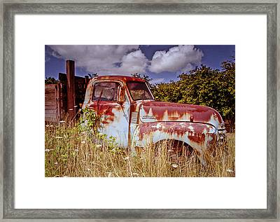 Preberry Takeover Framed Print by Jean Noren