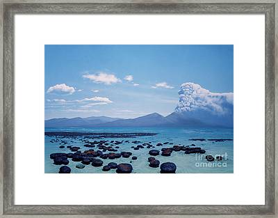 Precambrian Stromatolites Framed Print by Chase Studio