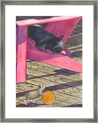 Precarious Framed Print by Catherine G McElroy