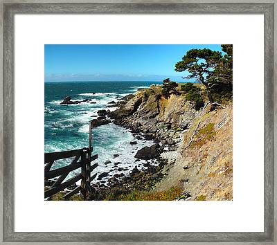 Precariously Beautiful Framed Print by Stan Angel