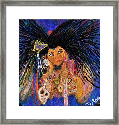 Precious Fairy Child Framed Print