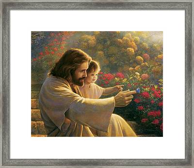 Precious In His Sight Framed Print