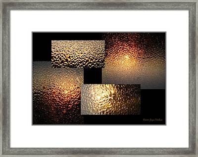 Framed Print featuring the photograph Precious Light Two by Joyce Dickens