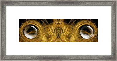 Precious Metal Frog Prince Panorama Framed Print by Andee Design