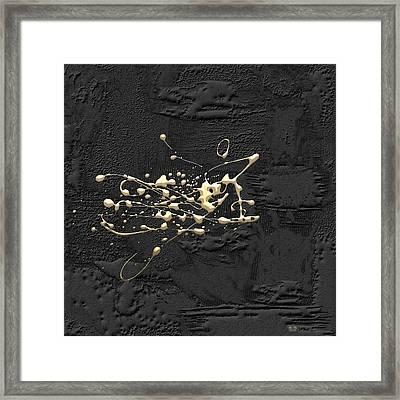 Precious Splashes - 1 Of 4 Framed Print by Serge Averbukh