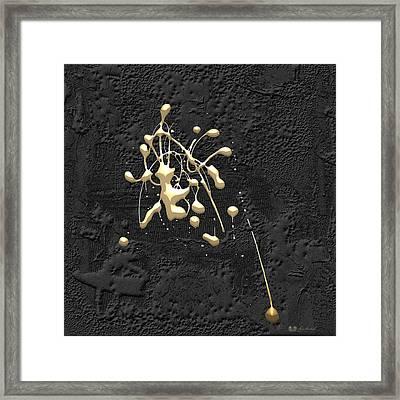 Precious Splashes - 3 Of 4 Framed Print by Serge Averbukh