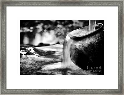 Precious Water Framed Print by Tim Gainey