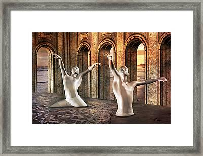 Precisely Aware Framed Print