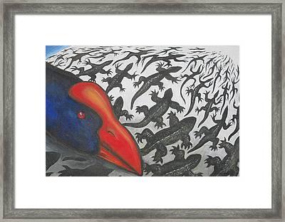 Predator Framed Print by Jan Morrison