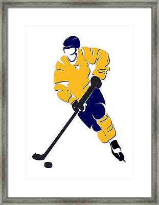 Predators Shadow Player Framed Print by Joe Hamilton